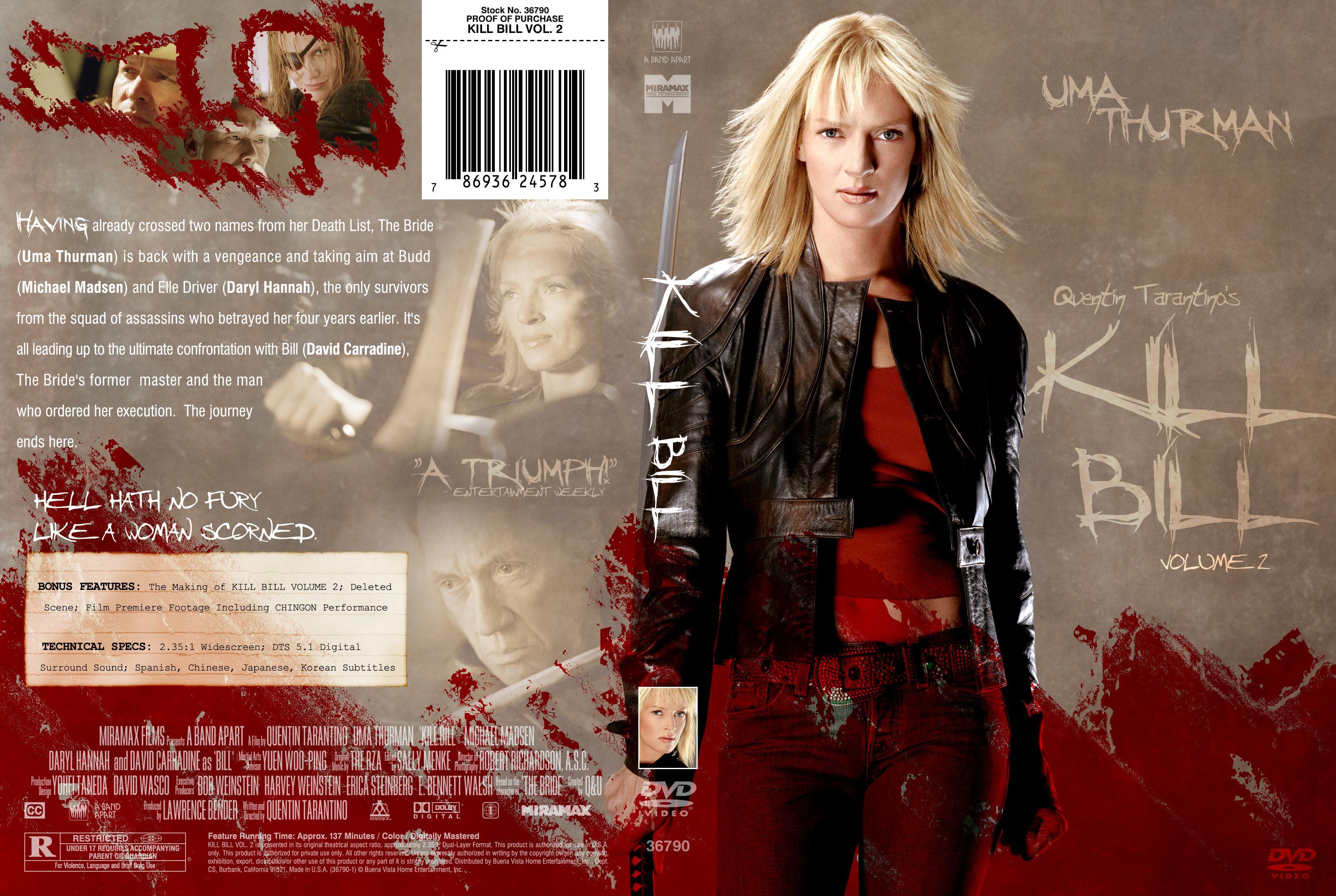 COVERS.BOX.SK ::: Kill Bill 2 v2 - high quality DVD / Blueray / Movie