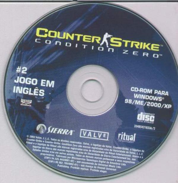 COVERS BOX SK ::: counter strike - condition zero (disc2) - high