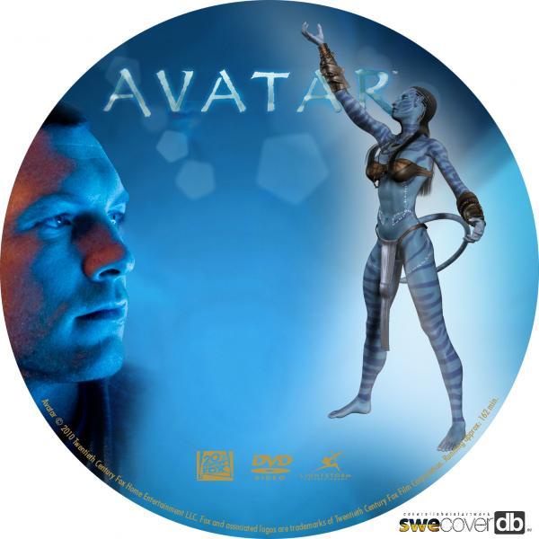 Avatar 2 On Dvd: COVERS.BOX.SK ::: Avatar (2009)
