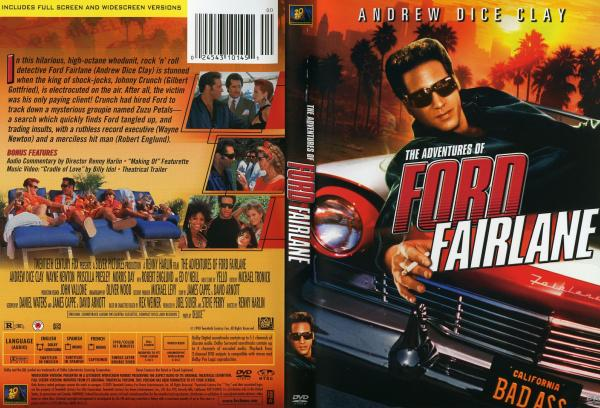 Covers Box Sk The Adventures Of Ford Fairlane 1990