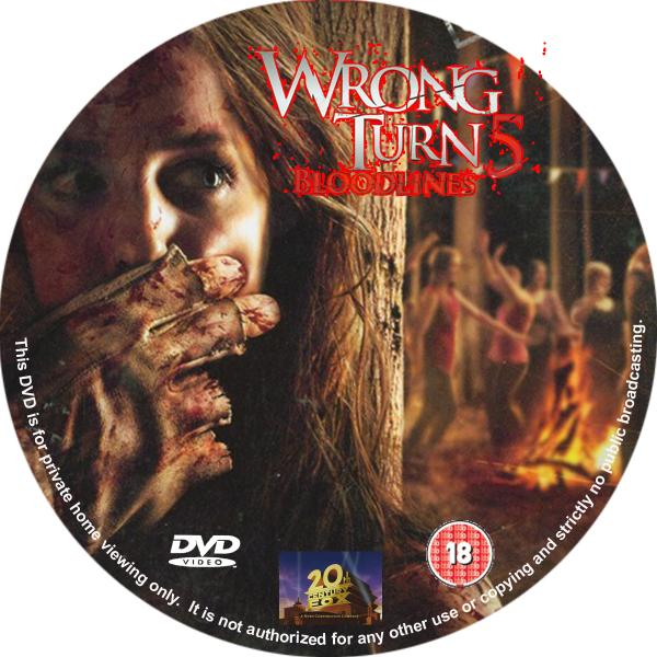 covers box sk wrong turn 5 2012 high quality dvd blueray movie. Black Bedroom Furniture Sets. Home Design Ideas