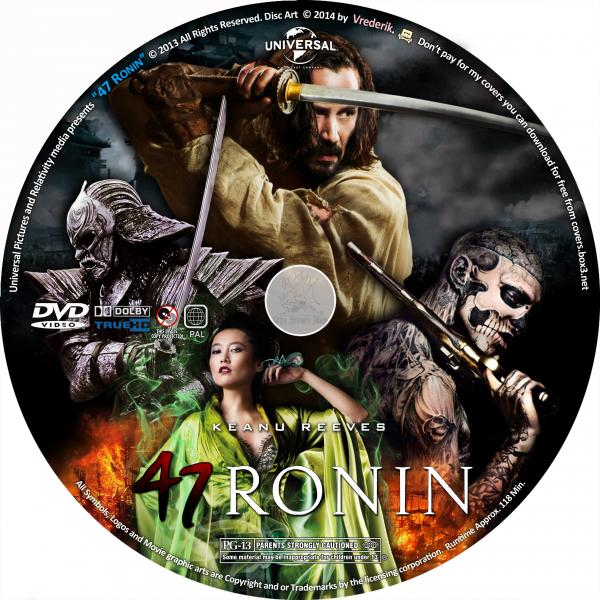 47 ronin 2018 dvd cover