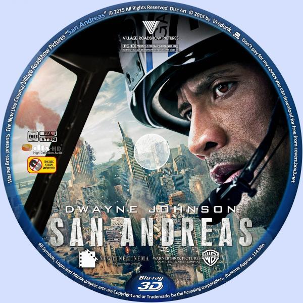 San Andreas (2015) Hindi Dubbed 720p BluRay 650mb