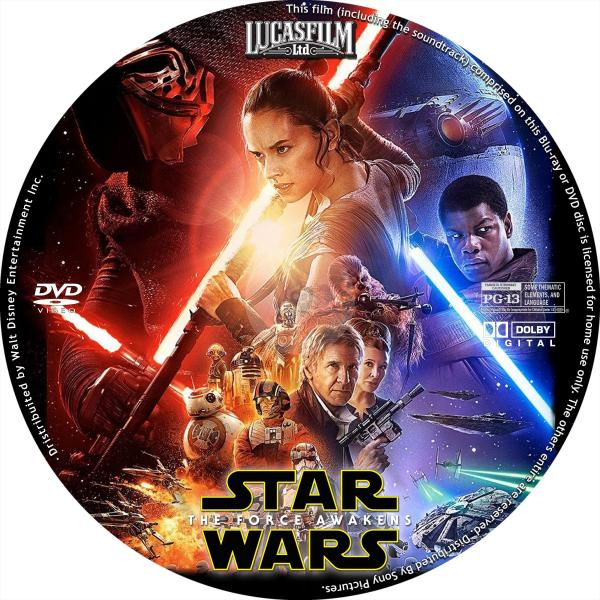 Star Wars 7 Dvd Start