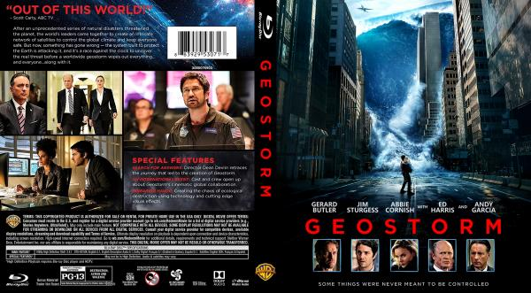 Covers Box Sk Geostorm 2017 High Quality Dvd Blueray Movie